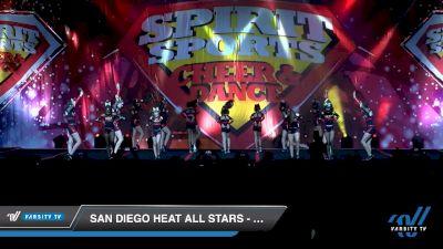 San Diego Heat All Stars - Code Red [2020 L1 Junior - D2 - B Day 1] 2020 Spirit Sports: Duel In The Desert