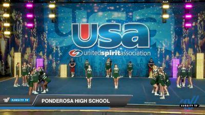 Ponderosa High School [2020 Super Varsity Show Cheer Intermediate Day 2] 2020 USA Spirit Nationals