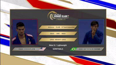 Isaac Doederlein vs Joao Gabriel Sousa Abu Dhabi King of Mats, Lightweight