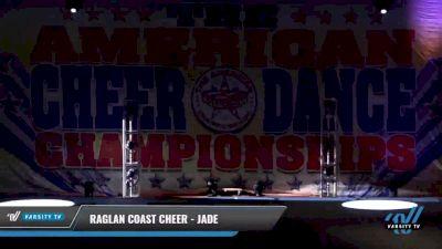 Raglan Coast Cheer - Jade [2021 L3 Youth - Small Day 1] 2021 The American Celebration DI & DII