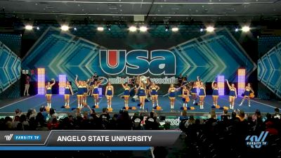 Angelo State University [2020 Band Chant -- College -- Cheer (6-20) Day 2] 2020 USA Spirit Nationals