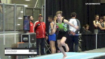 Simon Neufeld - Tumbling, Phoenix Gym Centre - 2019 Elite Canada T and G