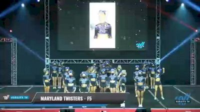 Maryland Twisters - F5 [2021 L6 Senior Medium] 2021 The MAJORS