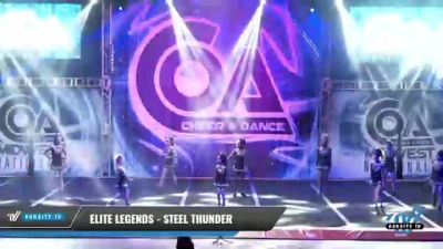 Elite Legends - Steel Thunder [2021 L1 Youth - D2 Day 1] 2021 COA: Midwest National Championship
