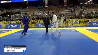 THIAGO AUGUSTO ARAUJO MACEDO vs ADAM BENAYOUN 2020 Pan Jiu-Jitsu IBJJF Championship