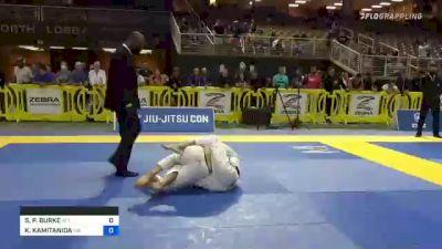 SEAN P. BURKE vs KOUICHI KAMITANIDA 2021 Pan Jiu-Jitsu IBJJF Championship