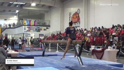 Arielle Ward - Beam, Metroplex Gymnastics - 2021 Region 3 Women's Championships