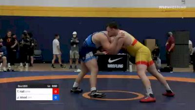 125 kg Final - Tanner Hall, Sunkist Kids Wrestling Club vs Jordan Wood, Lehigh Valley Wrestling Club