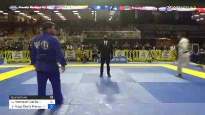 Leonardo Henrique D'avila vs Victor Hugo Costa Marques 2021 Pan Jiu-Jitsu IBJJF Championship