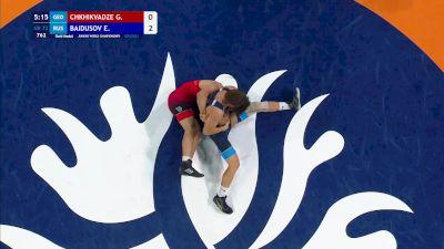 72 kg Final - Giorgi Chkhikvadze, Georgia vs Evgenii Baidusov, Russia