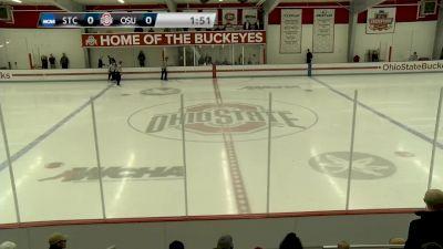 St Cloud State vs Ohio State   Big Ten Womens Hockey