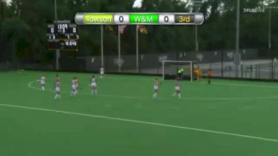 Replay: William & Mary vs Towson | Oct 10 @ 2 PM