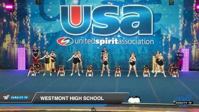 Westmont High School [2020 Large Varsity Show Cheer Novice (17-20) Day 2] 2020 USA Spirit Nationals