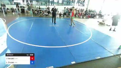 184 lbs Rr Rnd 2 - Ivan Kanzaki, Contact! vs Luis Cruces, Lions Den WC