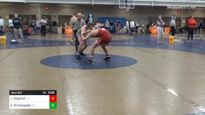 Prelims - Jared Siegrist, Lock Haven vs Chase Archangelo, Cleveland State