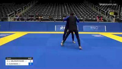 CHELSEA L. VALENZO DUGGAN vs CORI CUSHMAN 2021 World IBJJF Jiu-Jitsu No-Gi Championship