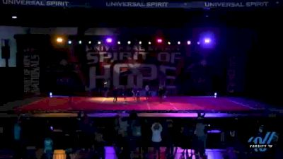 Cheer Extreme Mini Elite [2021 Mini 1 Day 2] 2021 Universal Spirit: Spirit of Hope National Championship