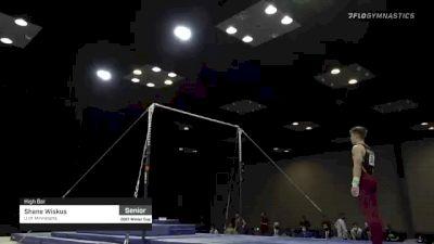 Shane Wiskus - High Bar, U of Minnesota - 2021 Winter Cup & Elite Team Cup