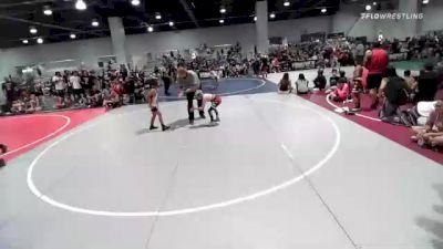 65 lbs Rr Rnd 3 - Devin Garcia, Supreme Punishers vs Cruz Evans, Bracket Bullies