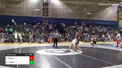 64 lbs Consolation - Easton Green, Social Circle USA Takedown vs Brennan Tucker, Team Hammer House