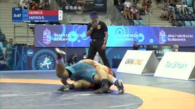 110 kg Repechage #2 - Rafail Gkirnis, Greece vs Rustam Sadykov, Kyrgyzstan