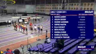 High School Girls' 3200m Division 1, Finals 1