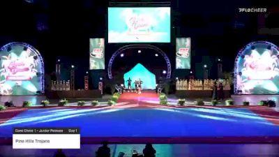 Pine Hills Trojans [2020 Core Cheer 1 - Junior Peewee Day 1] 2020 Pop Warner National Cheer & Dance Championship
