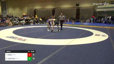 Quarterfinal - Troy Keller, Buffalo vs Emil Soehnlen, Purdue
