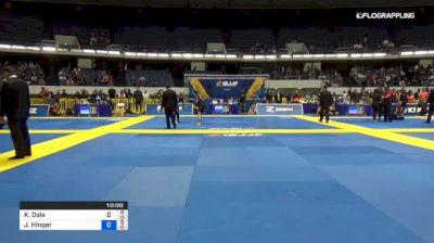 Kit Dale vs Joshua Hinger 2018 World IBJJF Jiu-Jitsu No-Gi Championship