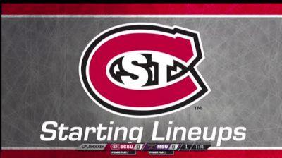 Minnesota State vs. St Cloud State - Minnesota St at St Cloud St   WCHA (W)