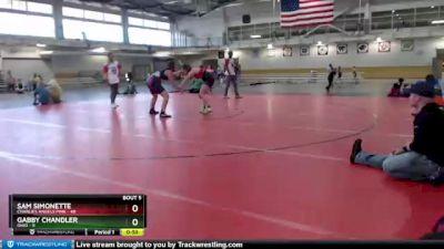 180 lbs Round 3 (4 Team) - Gabby Chandler, Ohio vs Sam Simonette, Charlies Angels Pink