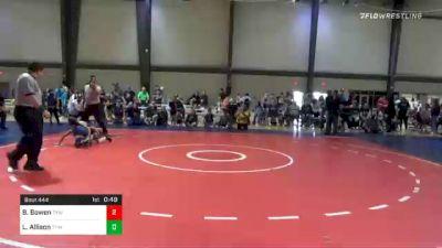 68 lbs Final - Brantley Bowen, Troup Youth Wrestling vs Levi Allison, Troup Youth Wrestling
