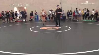 50 kg Quarterfinal - Jaclyn McNichols, TX vs Alleida Martinez, CA