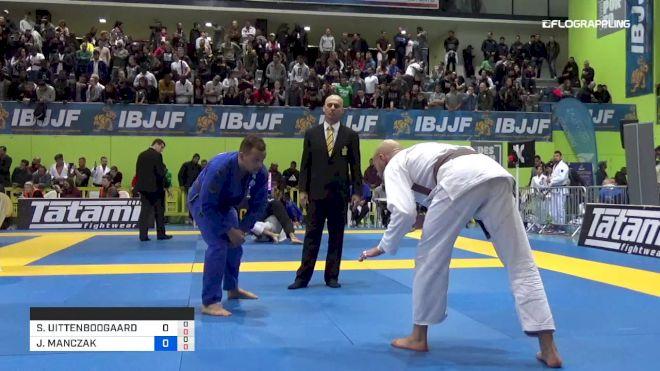 STEFAN UITTENBOOGAARD vs JOSHUA MANCZAK 2019 European Jiu-Jitsu IBJJF Championship