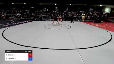 130 lbs Round Of 32 - SaVannah Cosme, CO vs Ashley Dehney, NH