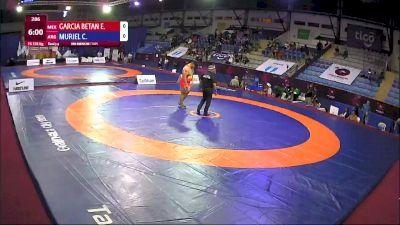 125 kg 3rd Place - Eduardo Maximiliano Garcia Betanzos, Mexico vs Catriel Pehuen Muriel, Argentina