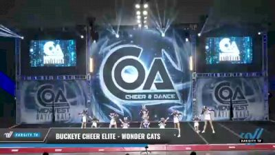 Buckeye Cheer Elite - Wonder Cats [2021 L1 Youth - D2 Day 2] 2021 COA: Midwest National Championship