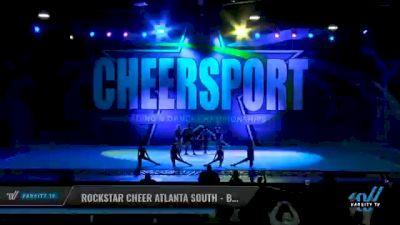Rockstar Cheer Atlanta South - BeeGees [2021 L1 Junior - Small - B Day 2] 2021 CHEERSPORT National Cheerleading Championship