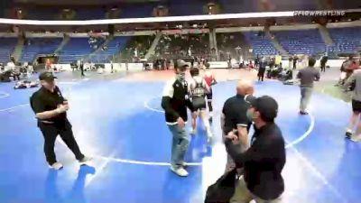 132 lbs 7th Place - Cj Shea, New England vs Dayne Dalrymple, Tennessee