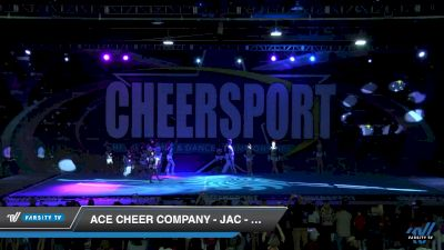 ACE Cheer Company - JAC - Riot [2019 Senior Restricted Coed Small 5 Division B Day 1] 2019 CHEERSPORT Nationals