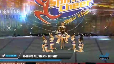G-Force All Stars - Infinity [2021 L3 Senior - D2 Day 2] 2021 South Florida DI & DII Nationals