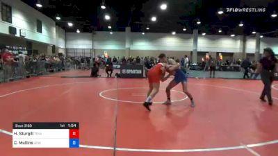 126 kg Final - Hunter Sturgill, Tennessee Outlaws Wrestling Club vs Collin Mullins, Level Up Wrestling Center