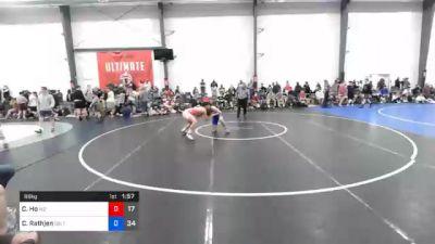66 kg Prelims - Chandler Ho, M2 Gold vs Caleb Rathjen, Sebolt Wrestling Academy