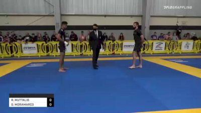 REHAN MUTTALIB vs GIANN MORAMARCO 2021 Pan IBJJF Jiu-Jitsu No-Gi Championship