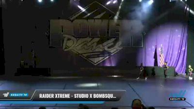 Raider Xtreme - Studio X Bombsquad [2021 Tiny - Hip Hop Day 1] 2021 ACP Power Dance Nationals & TX State Championship