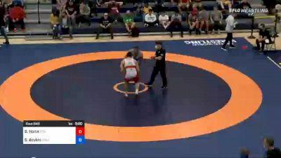 97 kg Final - Ben Honis, Titan Mercury Wrestling Club (TMWC) vs Scottie Boykin, Spartan Combat RTC