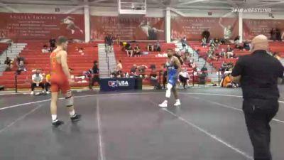 92 kg Consolation - Logan Andrew, Florida vs Antonio Andrade, California Regional Training Center (CA RTC)
