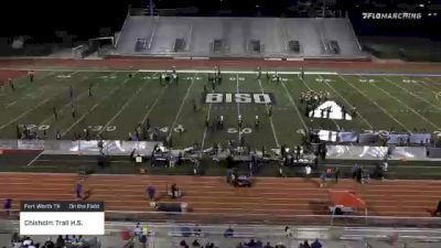 """Chisholm Trail H.S. """"Fort Worth TX"""" at 2021 USBands Burleson Showcase"""