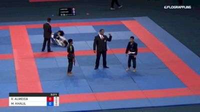 ROBERT ALMEIDA vs MOHAMED KHALIL 2018 Abu Dhabi Grand Slam Rio De Janeiro