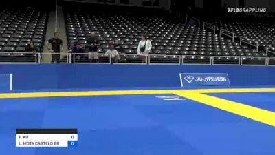 FIONA KO vs LUCIANA MOTA CASTELO BRANCO Alli 2021 World IBJJF Jiu-Jitsu No-Gi Championship
